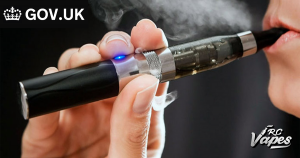Gov Report on false vaping fears